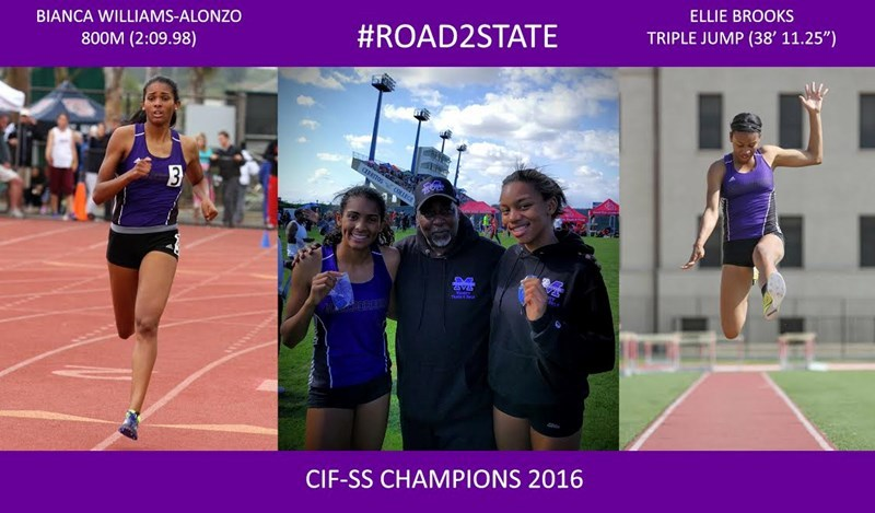 Mustang Athletes Go Big at the CIF-SS Track & Field Championships