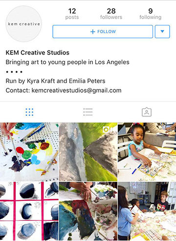 Kyra K. '19 Expands Art Program Serving LA Homeless Youth