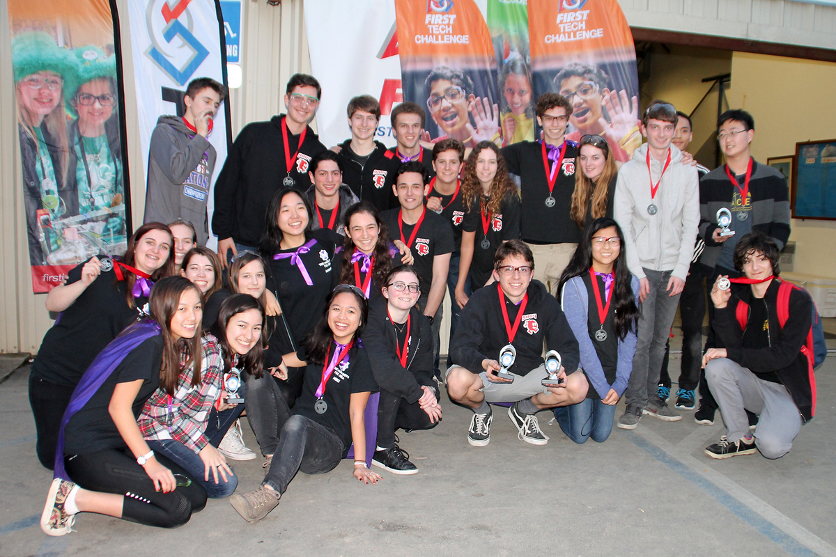 Marlbots and Curiosity Robotics Teams Finish in Top Six at InterLeague Tournament; Marlbots Advance to LA Regional Championship