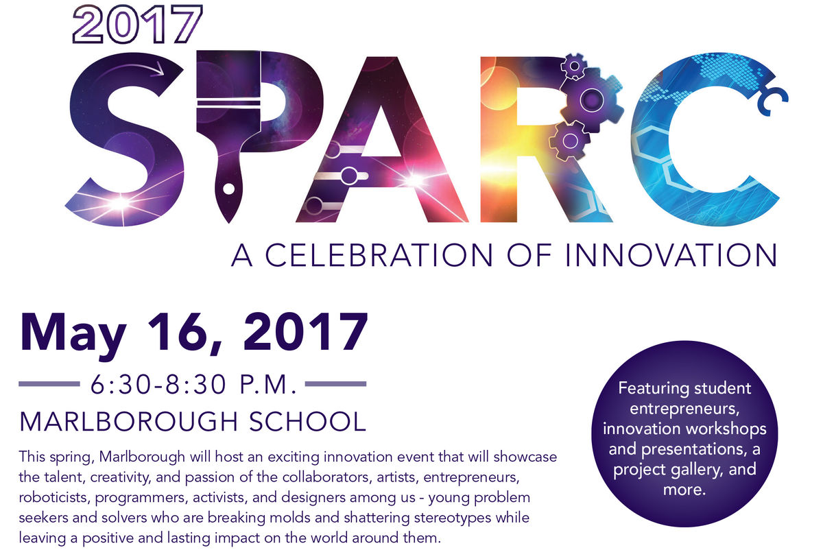 2017 SPARC: A Celebration of Innovation on May 16th, 2017