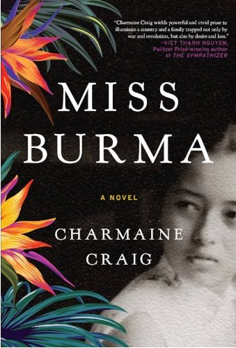 'Miss Burma' by Charmaine Craig '89 Now Available