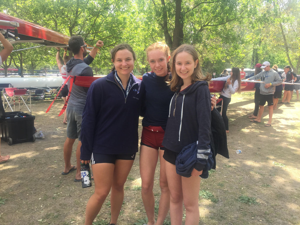 Bridget O. '18, Johanna F. '17 and Lily L. '18 qualify for US Rowing 2017 Youth National Championship