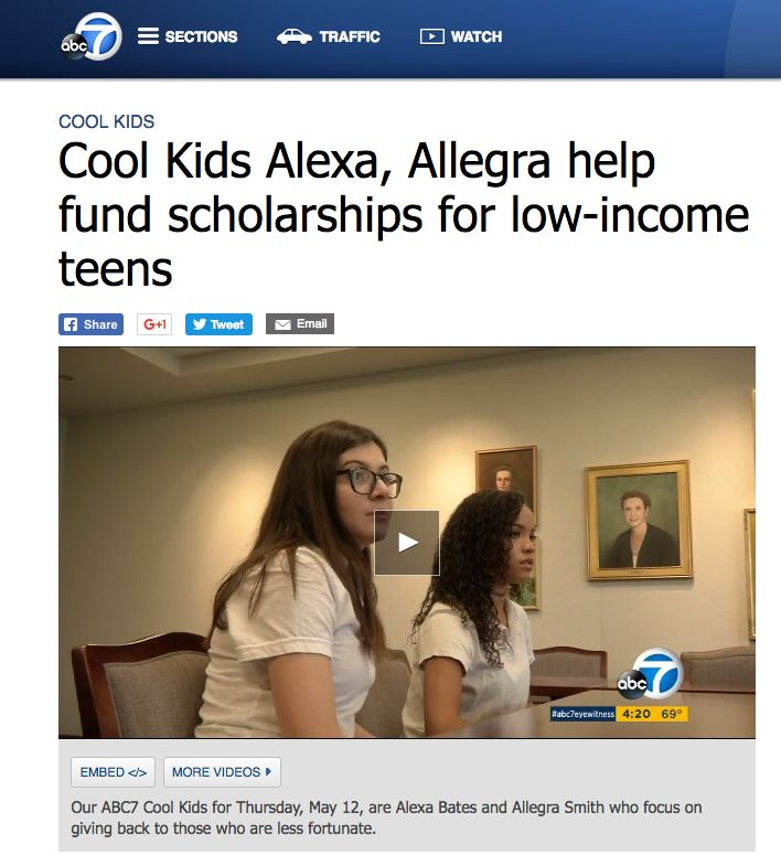 "Marlborough's ""Cool Kids"" on ABC7"