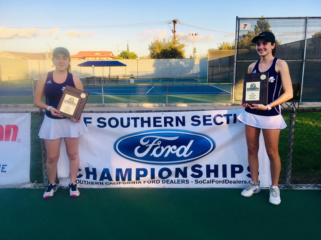 Jordan H. '19 and Arianna '21 Reach CIF-SS Finals
