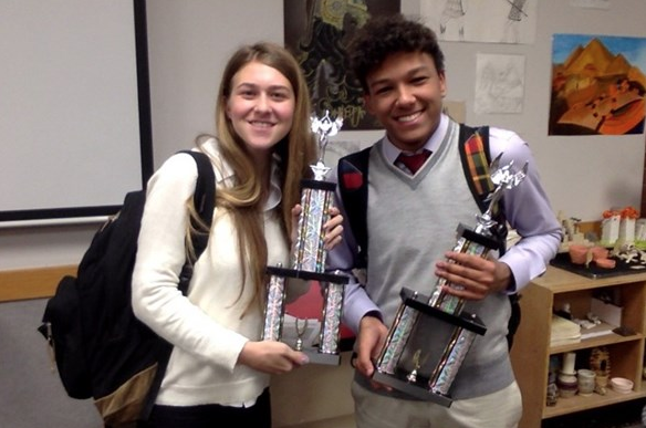 Annie G. '16 Wins Alta Silver and Black Invitational Debate Competition