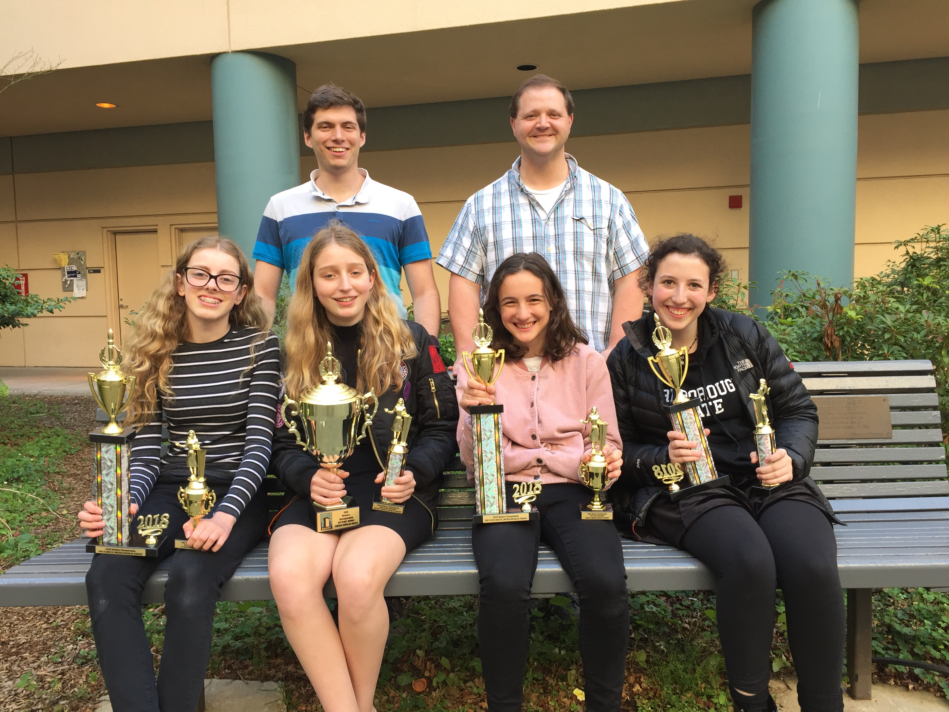 JV and Novice Debaters Win Western Regional Championships