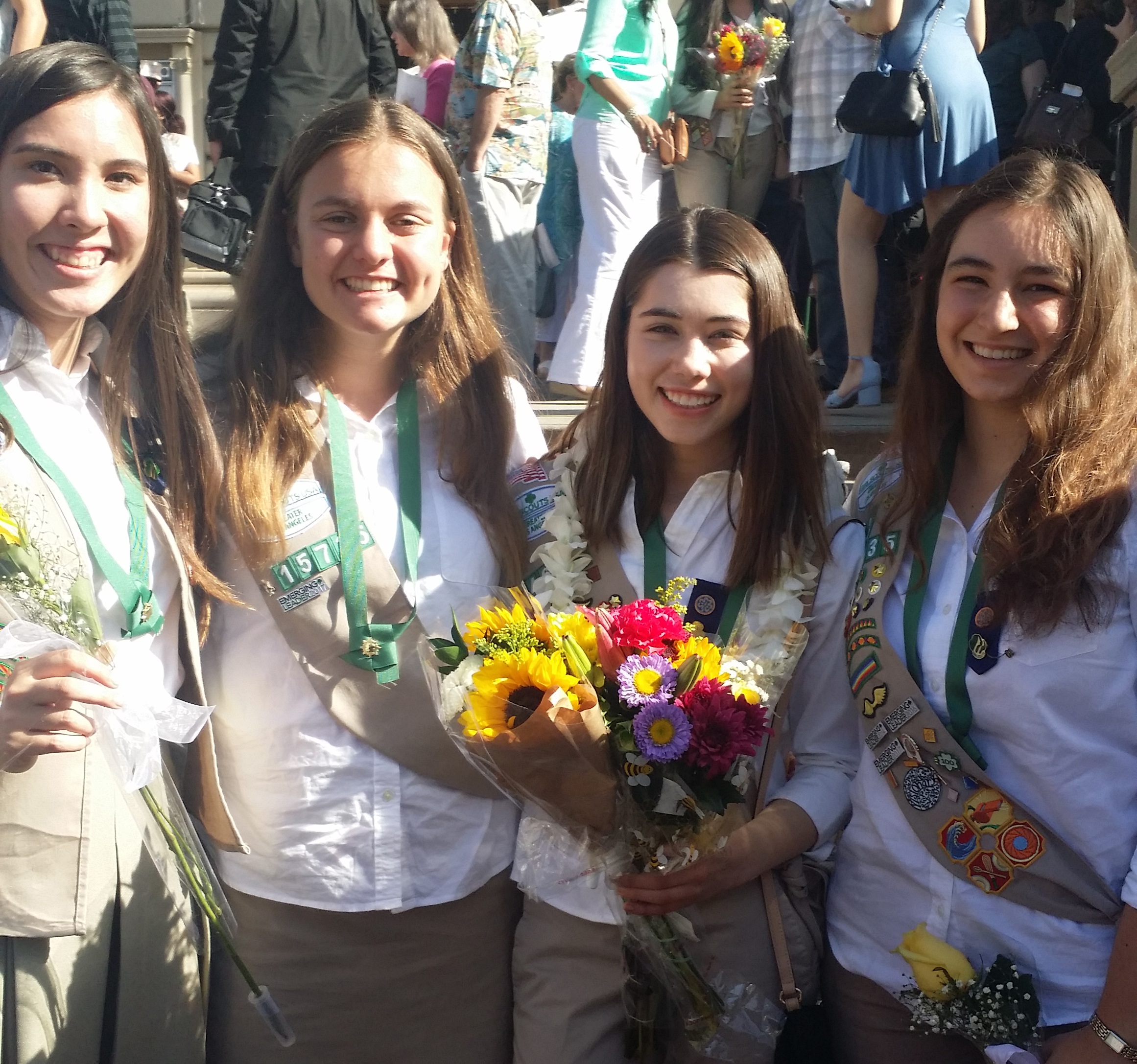 Five Marlborough students Receive Girls Scout Gold Award