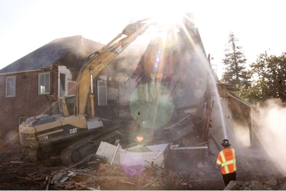 See Video of the Arden Project Demolition Day
