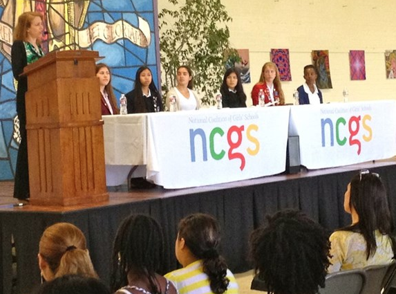 "Marlborough and the National Coalition of Girls' Schools share the ""Girls' School Advantage"""