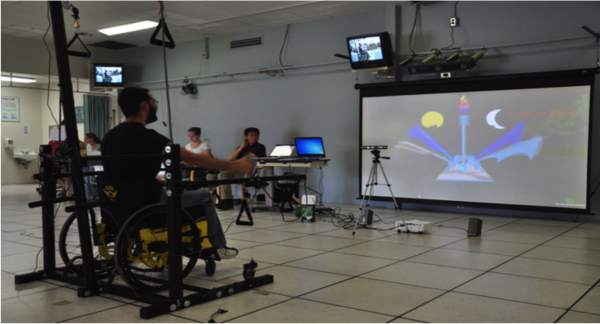The Feasibility of Mixed Reality Gaming as a Tool for Physical Therapy Following a Spinal Cord Injury