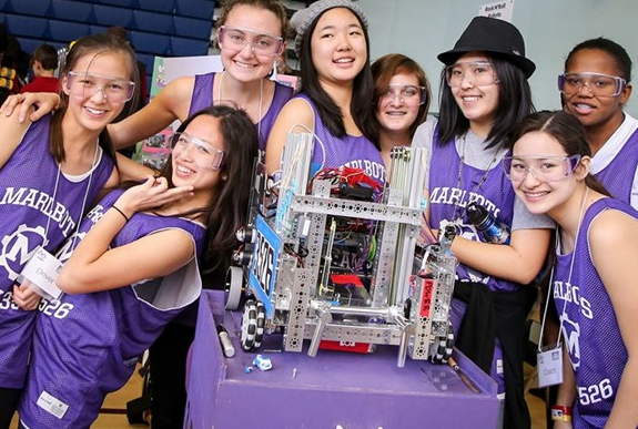 Marlbots win tournament, Advisor Witman wins recognition