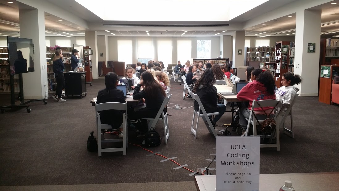 Marlborough Student STEM Committee Hosted UCLA Coding Workshop